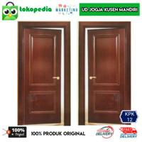 KPK12 - Set kusen pintu kamar kayu mahoni