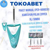 PAKET MANUAL Ayunan Bayi POLAR XL JUMBO Per Pegas VARIASI Hanger