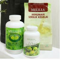 Melilea 3 in 1 paket diet / detox ( GFO+Apple Orchard+Susu Soya)