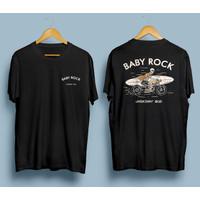 BabyRock Kaos Distro Original 2021 | Moto Skull Surf