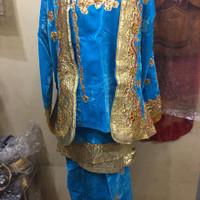 baju pengantin padang adat minang sepasang