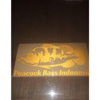 yy34b stiker ikan hias predator arowarna komunitas ikan indonesia