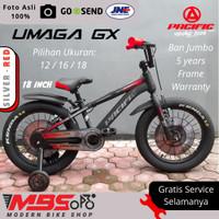 Sepeda Anak Laki Pacific Umaga 12 16 18 inch Bmx Ban jumbo Pasific