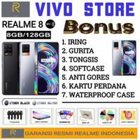 REALME 8 RAM 8/128 GB GARANSI RESMI REALME INDONESIA