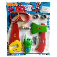 Mainan Anak Cowok Alat Tebang Pohon TOOL SET BTS 1806-21