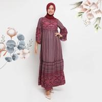 Gamis Airaa Kamilaa Itang Yunasz - Maroon, S