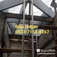 renovasi atap baja ringan bongkar pasang murah bergaransi