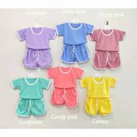 retro set - stelan anak 1-5 tahun / baju anak perempuan