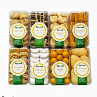 Kue Kering Premium Nastar Kastangels Sagu Keju Putri Salju Kue kacang