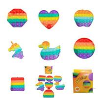 Mainan Anak Bubble Toy it Rainbow its Popit Popits Fidget Toys Small