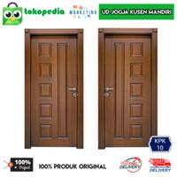 KPK10 - Set kusen pintu kamar kayu mahoni