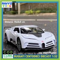 Diecast Mobil Buggati Mainan Miniatur Super Car Model Kit Koleksi 1:32