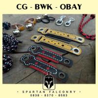 CG BWK OBAY NINOX - FALCONRY Anklet Angklet Gelang Kaki Burung