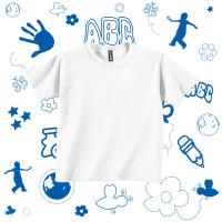 Baju Anak Laki Laki Dan Perempuan - Kaos Polos Anak - Putih