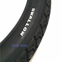 Ban luar sepeda 18 x 2.125 Swallow ( hitam) - kualitas bagus