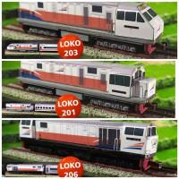 mainan kereta api miniatur lokomotif