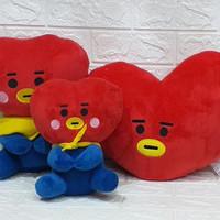 Boneka BTS K-pop Tata 1set/boneka tata/bantal tata/boneka lucu