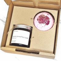 parsel ramadan bath bomb lilin aromaterapi hampers I gift set
