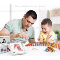 Games For Trip Puzzle Kayu Montessori Balok Susun / Mainan Blok