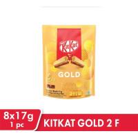 Kitkat Gold Sharebag Cokelat [17 g x 8 pcs]