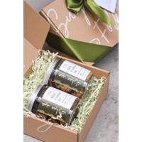 Parsel Ramadan Hampers Saha Box Mini Cookies Jar / Kue Kering Lebaran