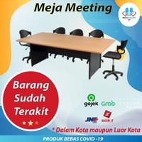 meja meeting, meja rapat Bandung, meja kantor - Besar