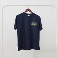 H&M T-Shirt / Kaos Baju H&M Tropical Paradise - Navy