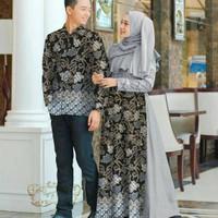 batik couple keluarga modern/Baju muslimah seragam/Cp pasangan/lamaran