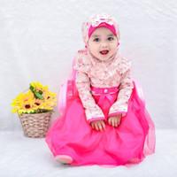 GAMIS RACHEL fashion muslim anak gamis anak gamis bayi babeebabyshop