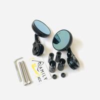 Spion Jalu Bar End Bulat Mini Scarlet Full CNC Vespa Nmax Aerox Vario