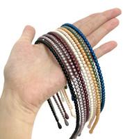 Small Pearl Hairband Doff - Bando Mutiara Polos Made in Korea - 21747