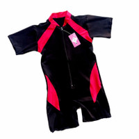 baju renang anak bayi unisex baby perempuan laki balita cewe cowo - Merah, M