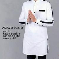 Baju Koko Pakaian Muslim Qurta Raja L ,XL ,XXL