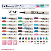 Spidol Kuas ARTLINE Supreme Brush Calligraphy Pen Marker EPF-F