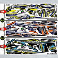 Sticker Striping Variasi Thailand / Thailook Jupiter Z (SPARK RK)