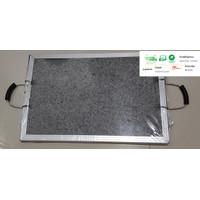 BAKAR BATU GRANITO / BATU GRANITO/ GRILL STONE ( DOBEL PLAT)