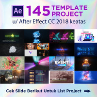 145 Projects Template After Effect (Win - Drive)