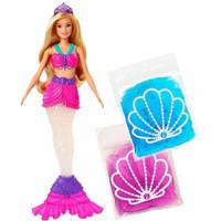 Barbie Dreamtopia Putri Duyung boneka buntut slime doh squishy mattel