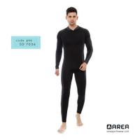 Baju Renang Pria Dewasa Selam Diving Panjang - Abu-abu, M