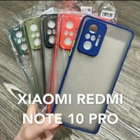 case matte Xiaomi Redmi Note 10 pro macaron tpu hardcase case doff