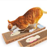 Mainan Papan Cakar Sisal untuk Kucing - Cat Scratch Pad Board