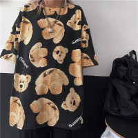 Kaos Tshirt Wanita Oversized Bape Ape Monkey Style Big Size