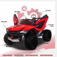 Mainan anak mobil Aki Mob 2026 Spacejam Ban Karet