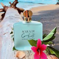 Parfum original Aqua di gio women 100ml giorgio armani reject unbox