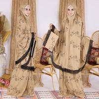 HM MUKENA ELIZA pakaian muslim wanita baju sholat