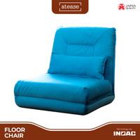 Atese Floor Chair - Reclining Floor Chair Sofa - by Inoac Living - Cokelat