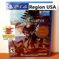 PS4 Monster Hunter World (R1 / Region ALL / USA) - Region ALL USA