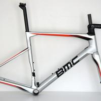 BMC RM01 Roadmachine 01 Rahmenset chrome-black-red
