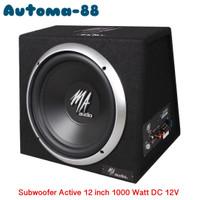 Subwofer aktif 12 inch Super Bass Car Audio bukan JBL Kenwood Polytron