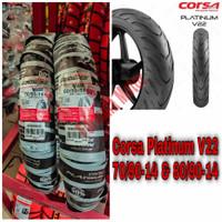 Ban Sepasang Mio / Soul 70/90-14 & 80/90-14 Corsa V22 Free Pentil